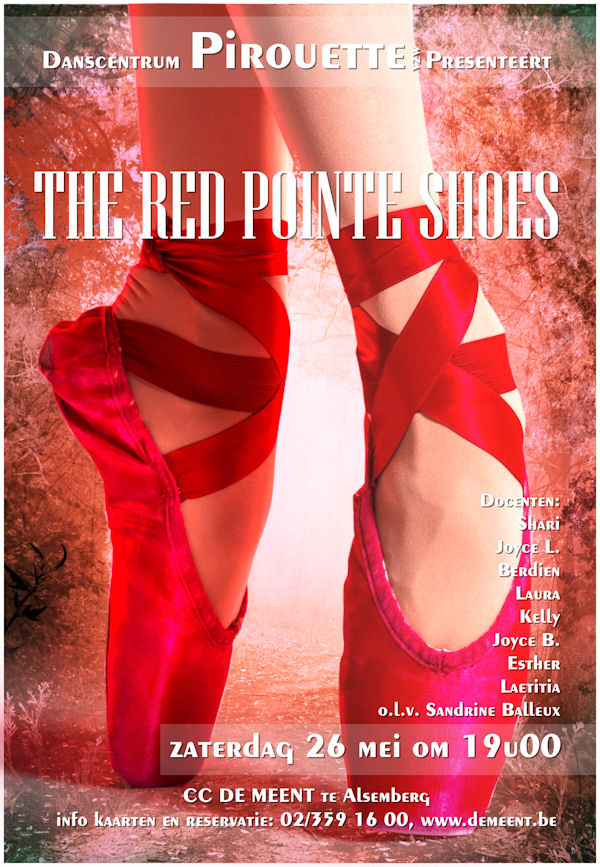 PIROUETTE – THE RED POINTE SHOES DVD